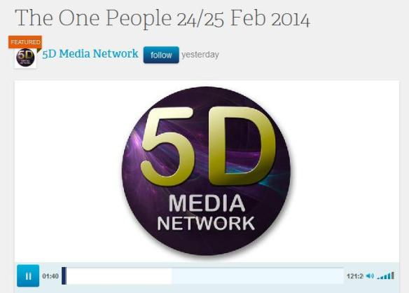 The One People 24-25 Feb 2014 02-24 by 5D Media Network - Spirituality Podcasts 2014-02-25 14-22-55