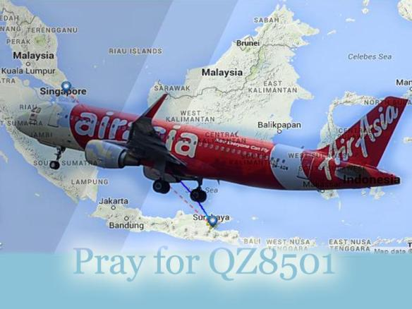 pray for QZ8501