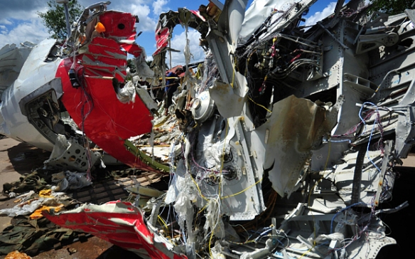 "The wreckage of AirAsia's flight QZ8501. 162 innocent passengers have been killed due to AirAsia's ""Administrative Negligence""."