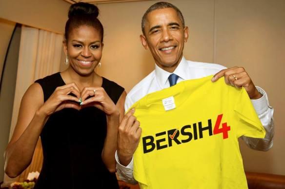 Obama Bersih 4