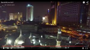 Bersih4 aerial view