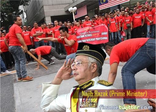 UMNO-Red-Shirts-Najib-Razak